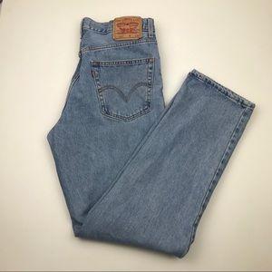 Vintage Levi's High Waist wedgie fit Jeans Sz 33